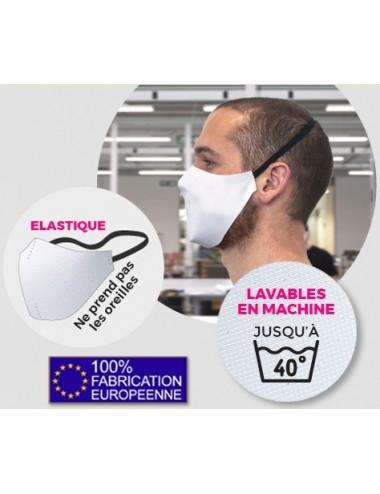 Masque en tissu réutilisable