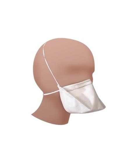Masque de protection FFP2 Bec de canard - Blanc