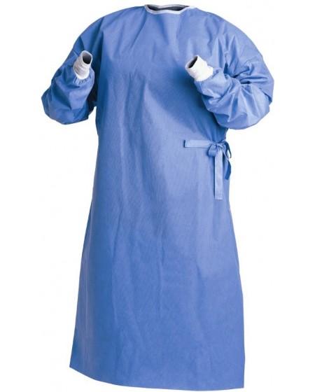 Surblouse jetable polypropylène 25 grammes - Bleu