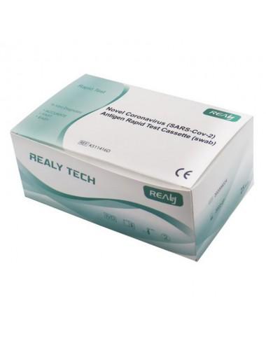 Test rapide Antigénique Covid-19 REALY TECH