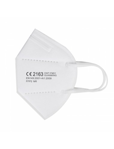 Masque de protection Respiratoire FFP2 Sachet individuel - Blanc