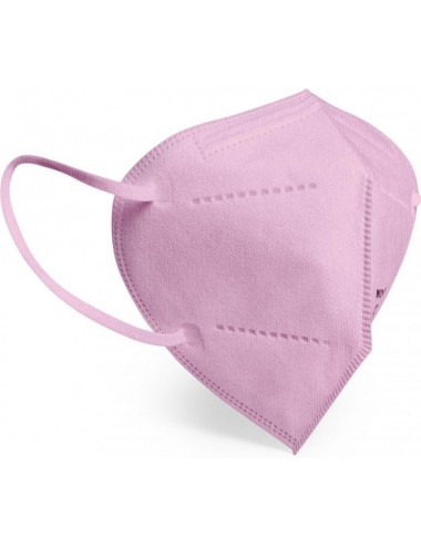 Masque de protection Respiratoire FFP2 (Sachet individuel) - Rose